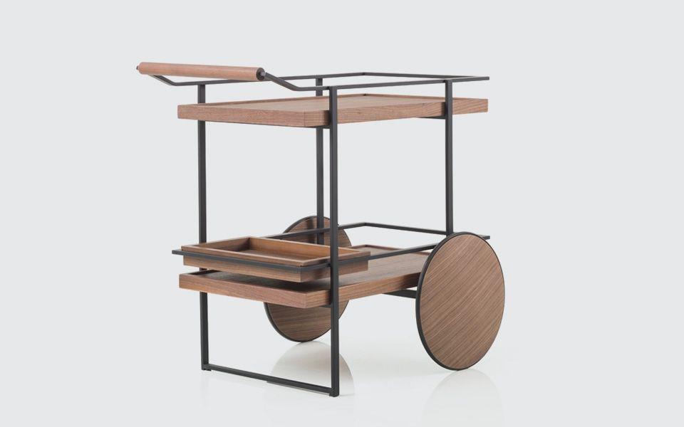 James bar cart stellar works designed by yabu for Sharon goldreich