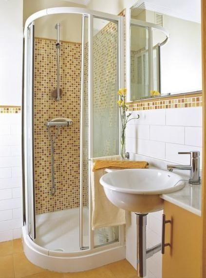 Cómo decorar baños pequeños | Cuartos de baños pequeños ...