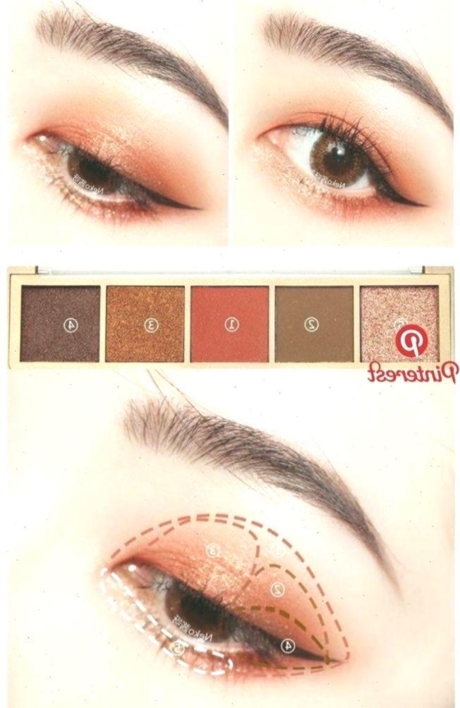 Pin von Hami Nguyen auf Beauty im Jahr 2019   Pinterest   Make-up, koreanische Augen Make-up und … –...