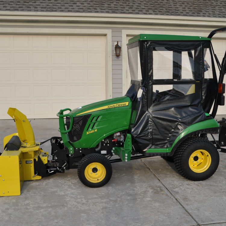 Click To Purchase Hard Top Tractor Cab Enclosure For John