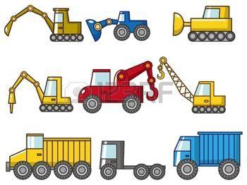 Camion bande dessin e ic ne de camion de dessin anim - Camion de pompier a dessiner ...