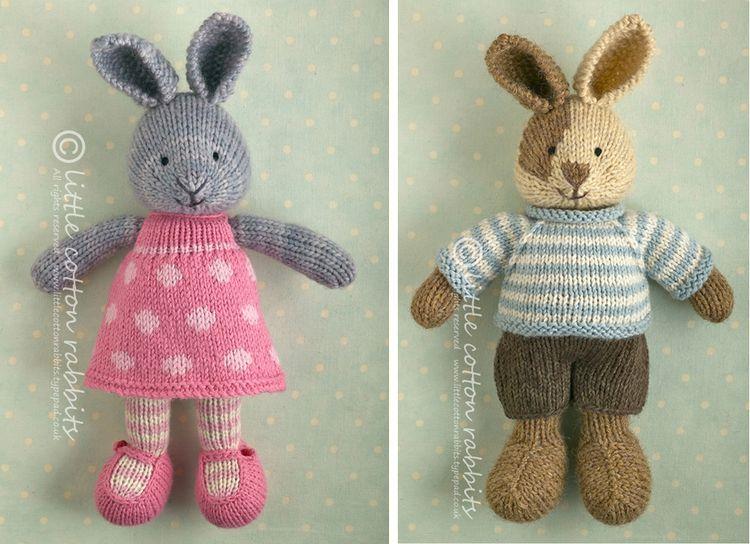 Bunny knitting patterns | Conejo, Tejido y Lana