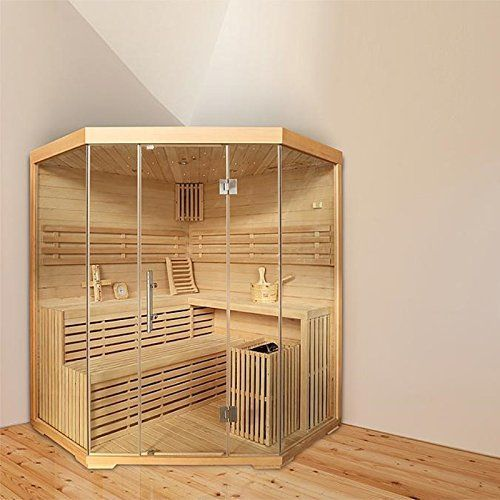 ᐅ TOP EckSauna für 4 Personen B 18m mit Sternenhimmel Sauna für zu Hause online günstig kaufen Saunen Preisvergleich m sick