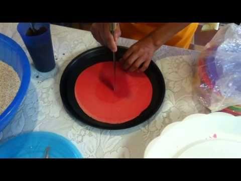 Obleas con amaranto y chocolate - YouTube