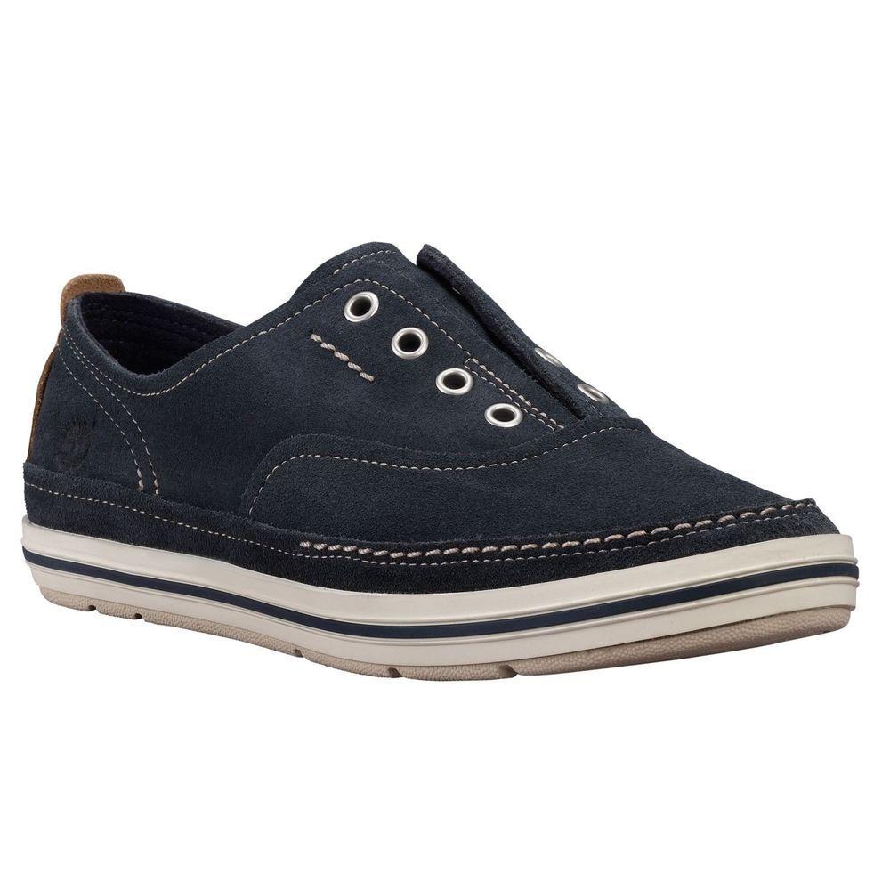 4ed909c9ef35 Timberland Women s Earthkeepers Casco Bay Blue Laceless Slipon Shoe Style   8843R  Timberland  BoatShoes