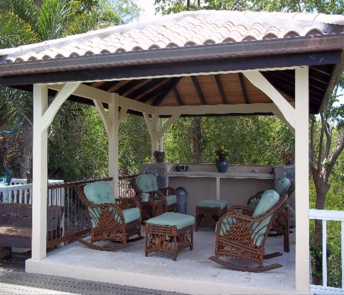 Modern patio gazebo furniture ideas outdoor gazebos for Mobili outdoor