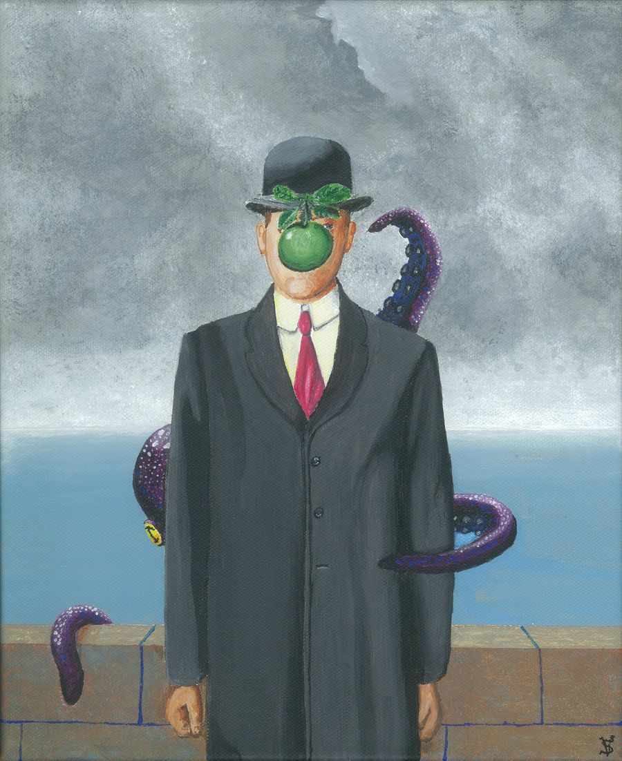 """Octopus """"The Son of Man"""""""