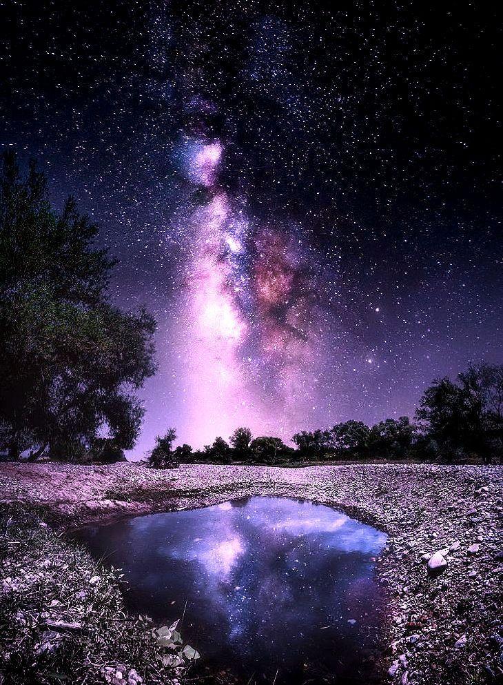 Crater Lake Galaxy by Christiyan Mladenov / 500px