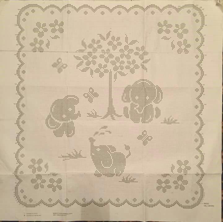 Pin di filippo marchese su bebe crochet baby filet for Pizzi all uncinetto per lenzuola