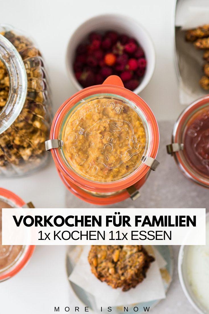 10 Familien Rezepte + Wochenplan