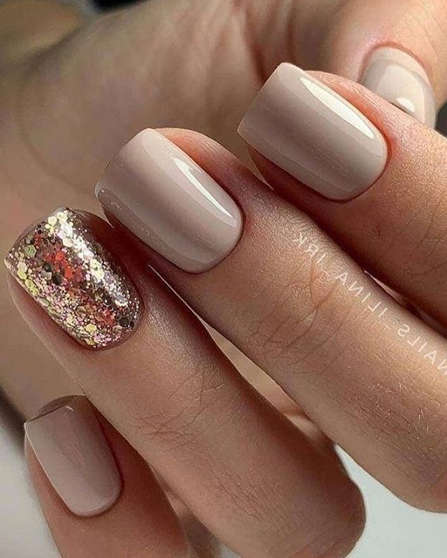Best Nail Ideas For Short Nails In 2020 Glitter Nails Acrylic Vintage Nails Nail Designs Glitter