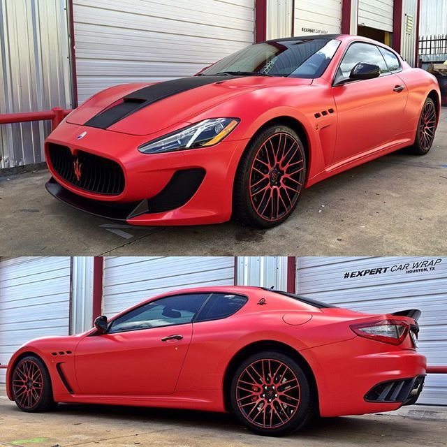 Instagram Media By Expertcarwrap More Pictures Of This Maserati Granturismo Mc Sport Wrapped
