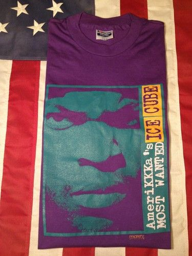 fe1f7a80778d Original ICE CUBE Amerikkkas Most Wanted Shirt | Music | Shirts ...