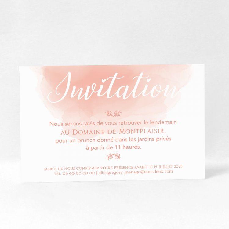 invitation faire part mariage