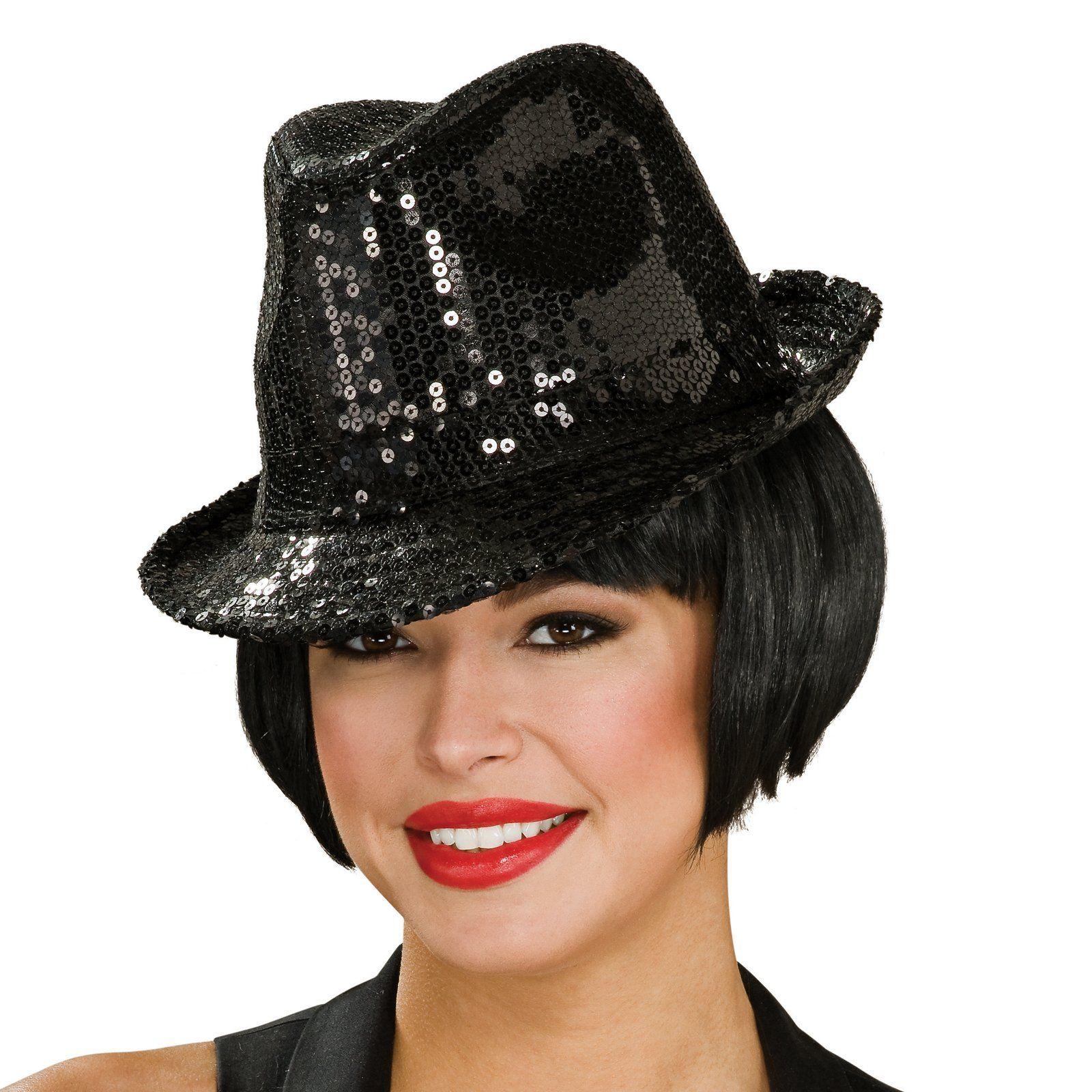 Sequin Fedora Hat Adult from Hats