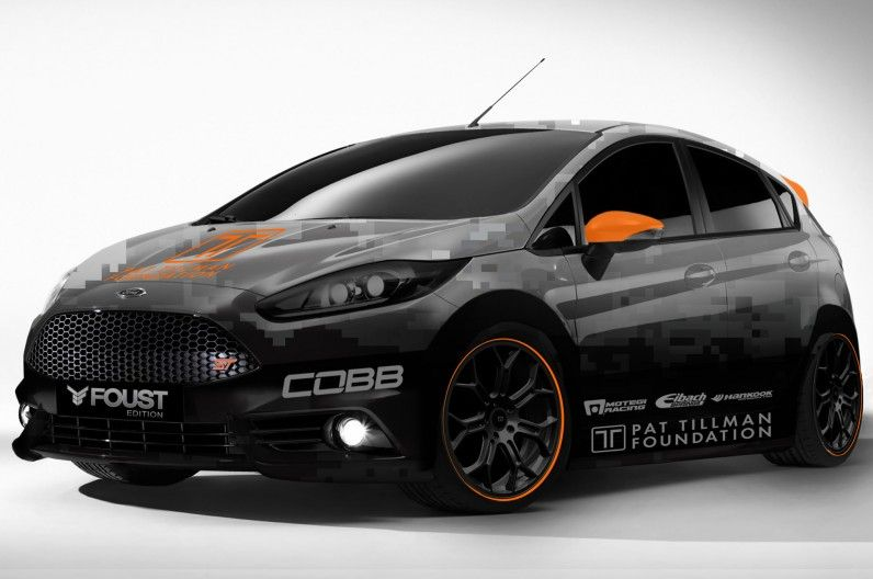 2014 Ford Fiesta St Mustang Gt Modified For 2013 Sema Show Ford