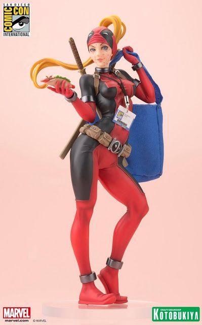 Galaxy Fantasy: Kotobukiya nos presenta la figura de edición limitada Lady Deadpool Bishoujo Statue