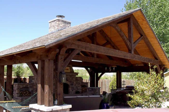 post and beam gazebo | Basic Woodworking Projects - Post And Beam Gazebo Basic Woodworking Projects Gazebos