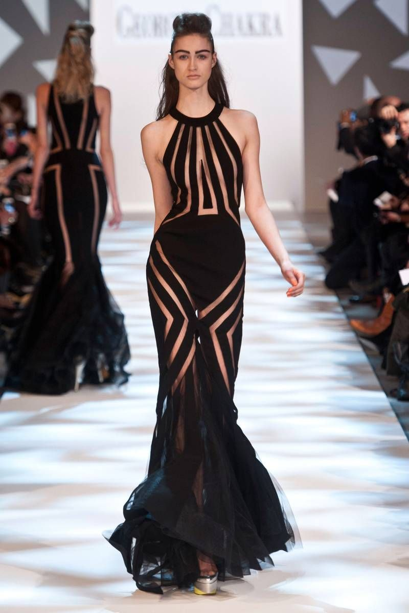Georges chakra spring couture fashion show georges chakra
