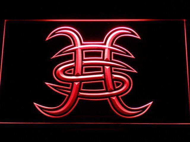 Heroes Del Silencio Led Neon Sign Heroes Del Silencio Tatuaje De Astrología Heroe