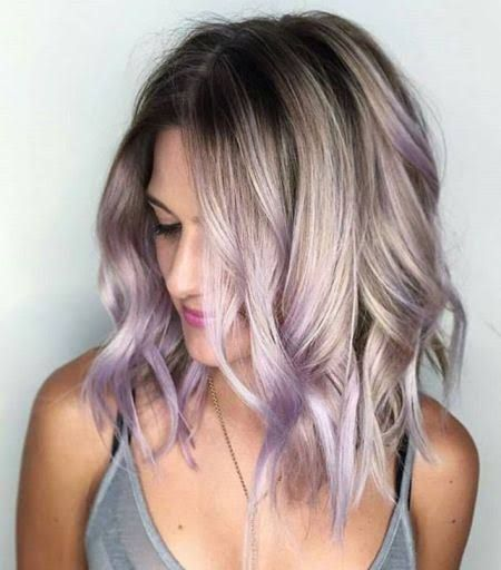 20 Blonde Balayage Hairstyles Peekaboo Hair White Ombre Hair Hair Styles