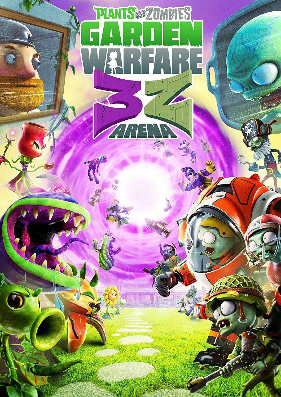 Plants vs  Zombies Garden Warfare: 3Z Arena Poster | Plants vs