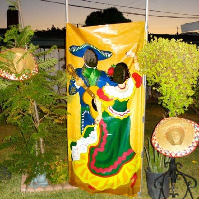 Mexican Themed Party Photo Station