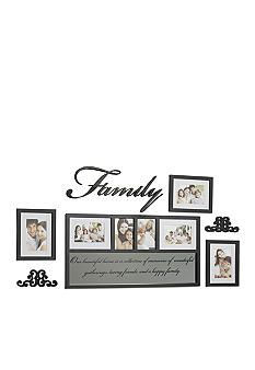 Melannco 7 Piece Wall Frame Set Belk Frames Family Frames Picture Frame Decor Wall Frame Set