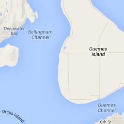 Guemes Island Washington State Bike route - Google Maps ...