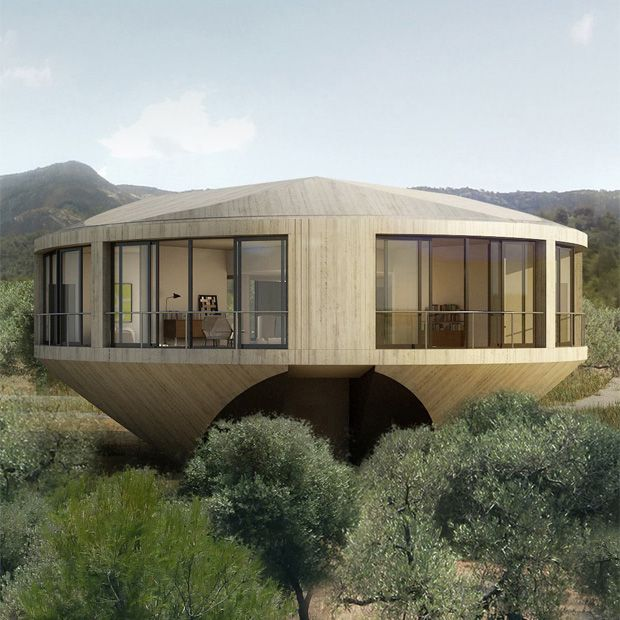 Round House Design Offers a Unique Architectural Experience Round