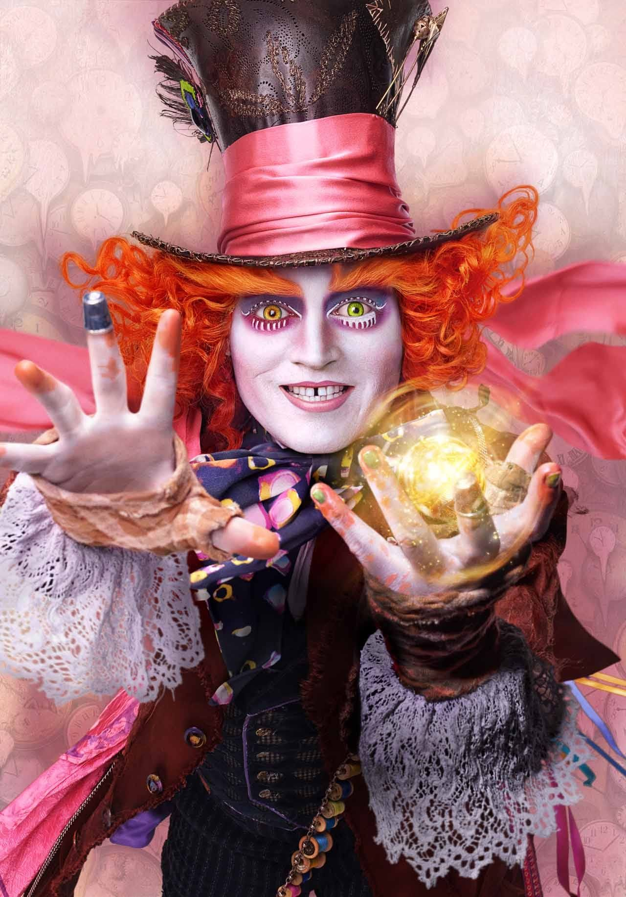 Mad Hatter Alice Through The Looking Glass Wallpapers Hd