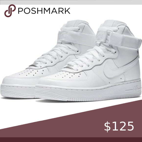 Nike Air Force 1 high tops These are a women's size 7. I ...