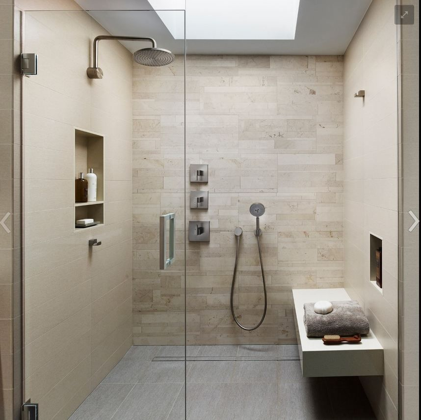 Skylight in the shower - a must