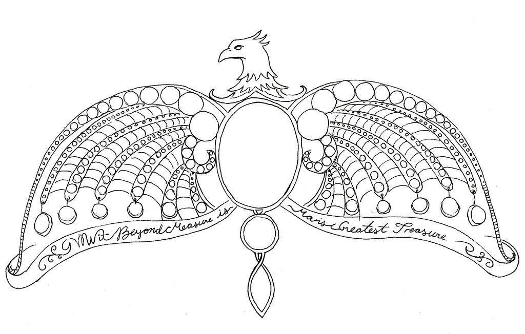 Ravenclaw Diadem Tattoo By Cnc Acrylics Tattoo Ideas
