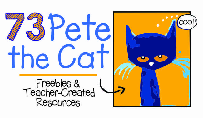 Pete The Cat Inspired Free Printables Kindergarten First Day