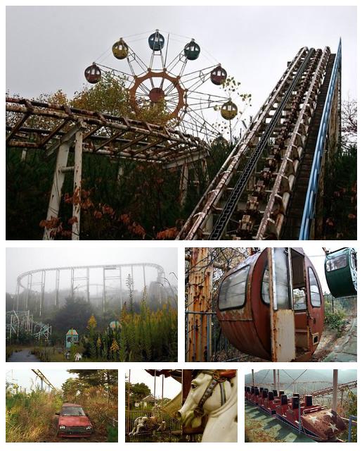 Abandoned Amusement Park: Pictures Of Takakanonuma