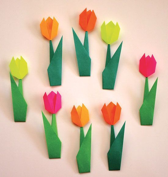 Tulpen Origami