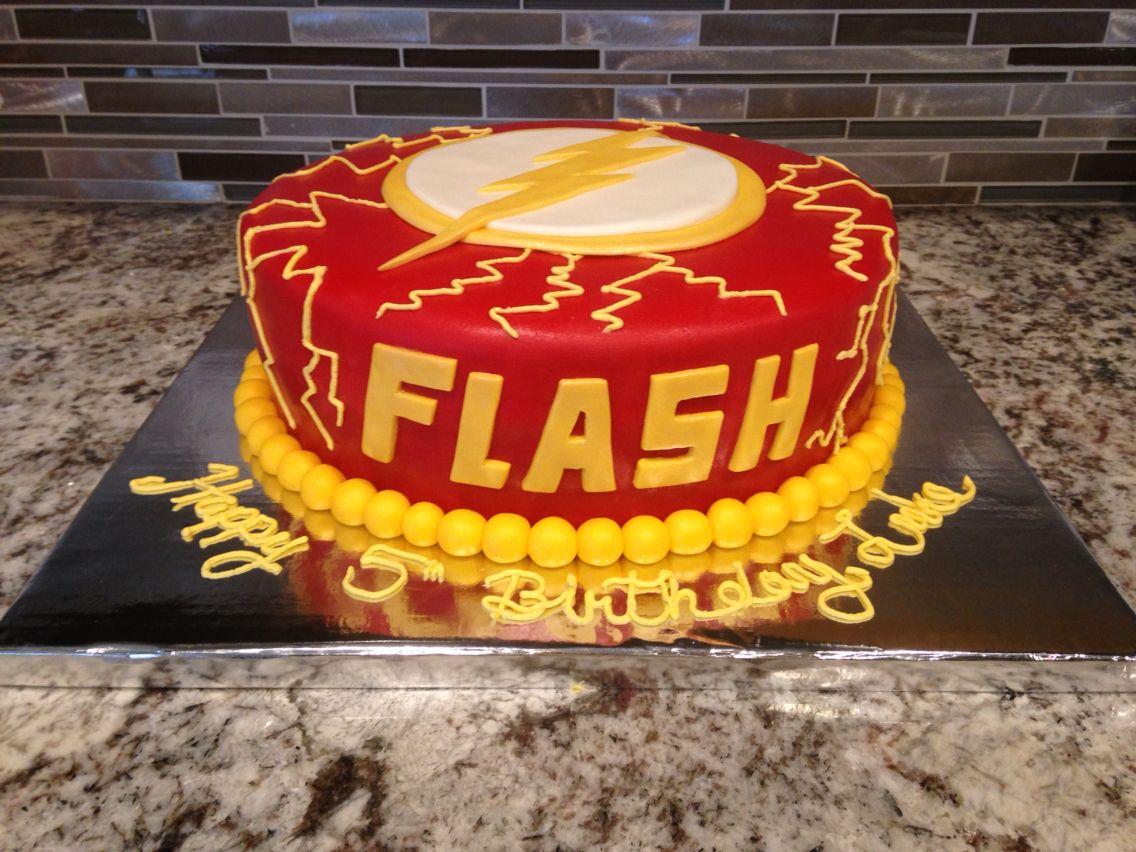 Flash Cake I Made Theflash My Cakes Pinterest Cake