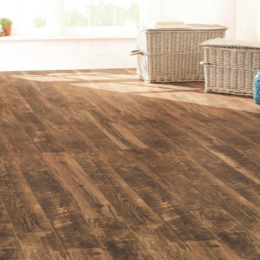 Home Decorators Collection Aged Wood Fusion 12 Mm Thick X 6 3 16 In Wide X 50 3 4 In Length Laminate Flooring 697 6 Sq Ft Pallet Hc13p The Home Depot Aging Wood Flooring Laminate Flooring