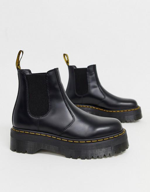 Dr Martens 2976 platform chelsea boots in Black | ASOS