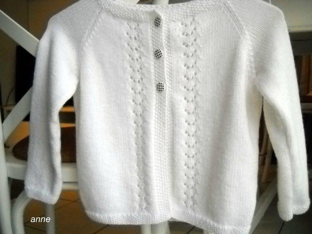 9bee558324c1a patron tricot gilet fille 6 ans