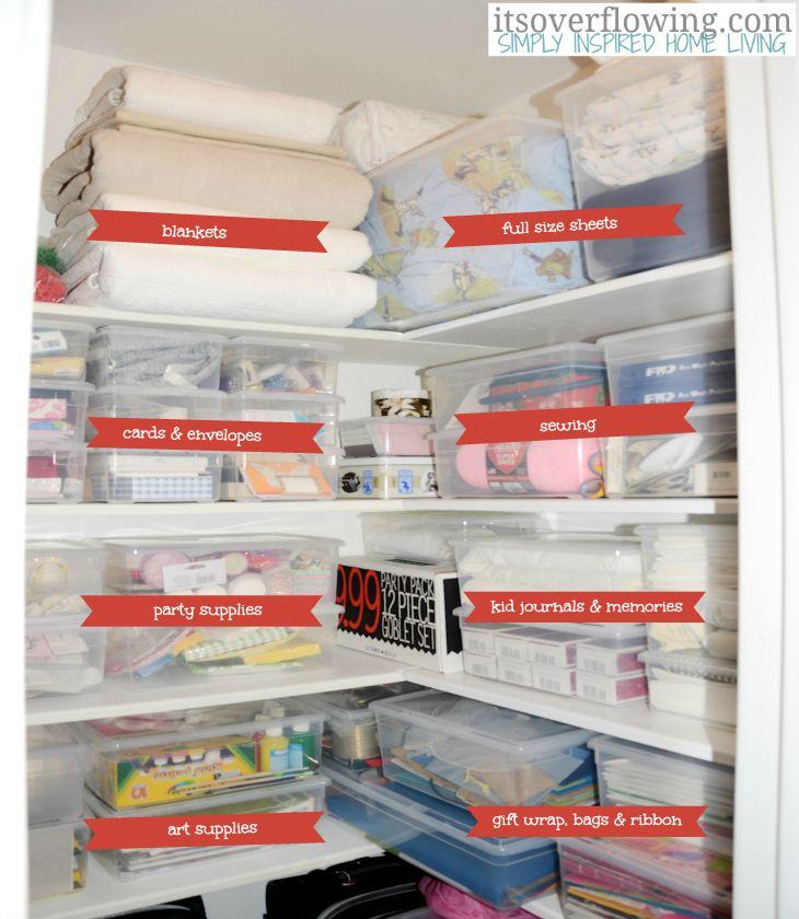 How to organize a hall closet moving tips hall closet