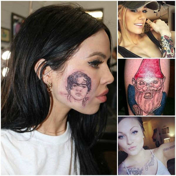 Tattoos that are wrong in so many ways. ✨😝😜 Watch more #tattoo #tattooed #tattoolife #tattooist #ink #inked #tattooaddict #tattooworld #tattoostyle #tattooing #tattoolovers #inkedlife #fails #failoftheday