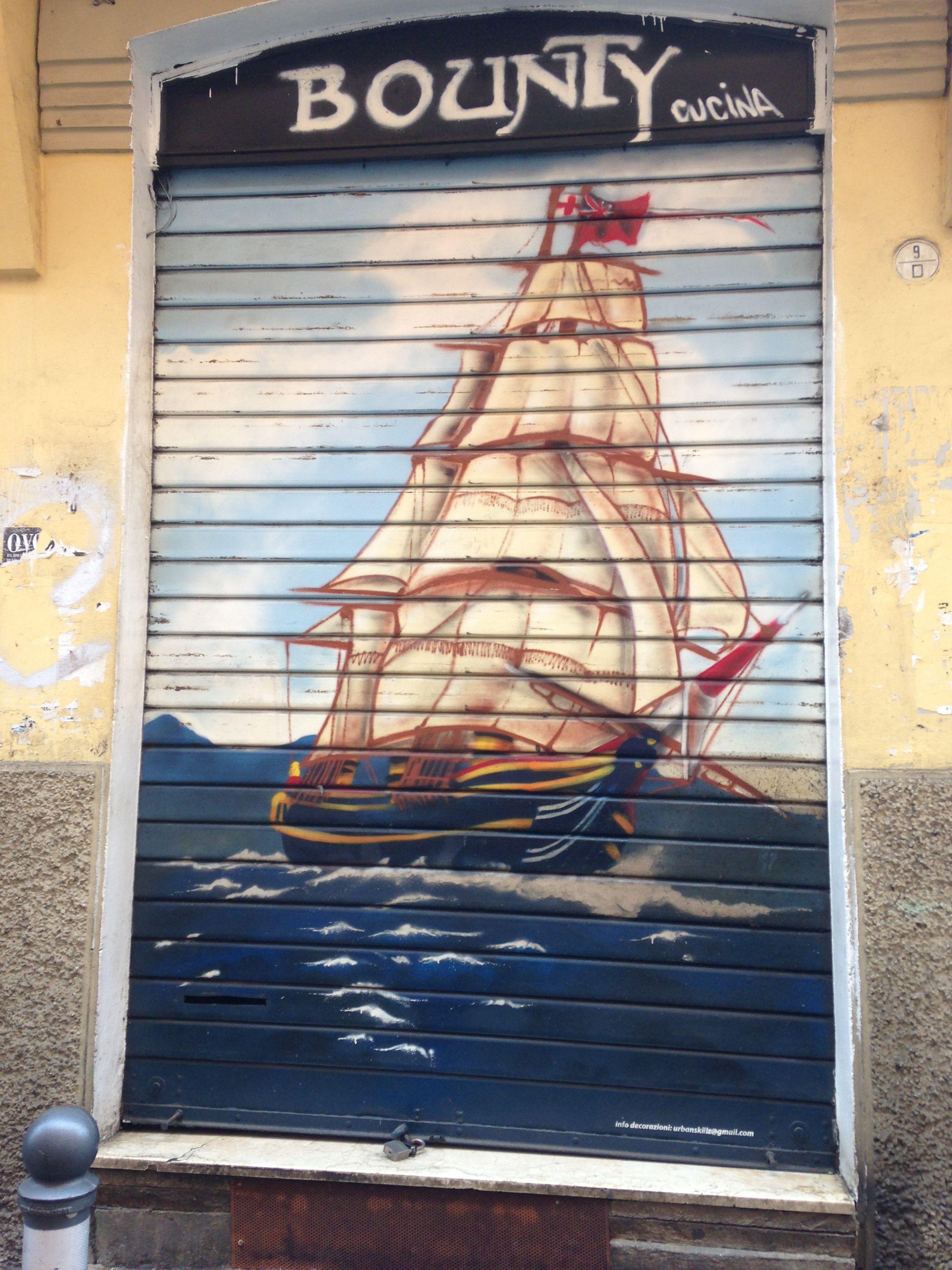 Street art, Bologna, Italy
