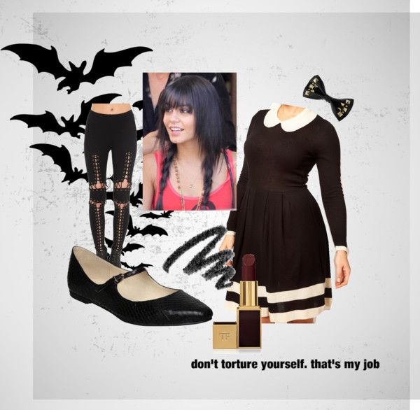 """""""Wednesday Addams"""" by thelittlestowl on Polyvore"""