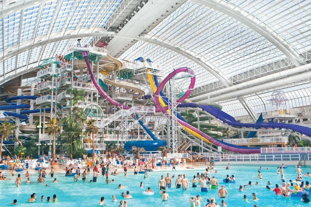 Best Water Parks In The World Indoor Waterpark Water Park Mall Of America