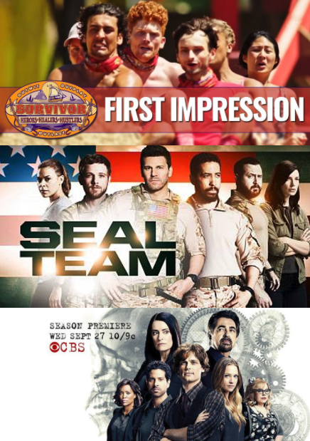 Fall Tv Wednesday Night On Cbs What S New Survivor Seal Team Criminal Minds Previews Where To Watch Survivor Sealteam Criminalminds Falltv Trail Fall Tv New Survivor Criminal Minds