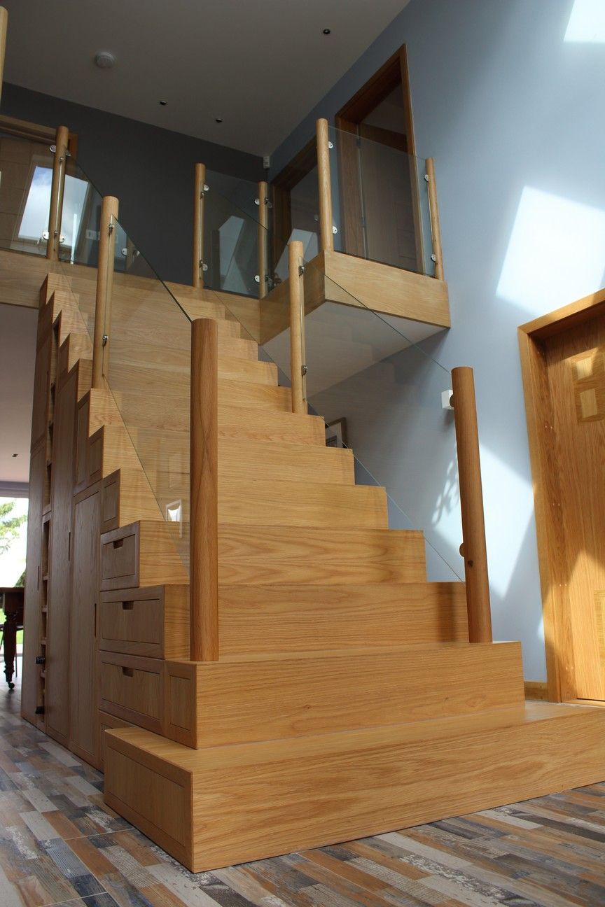 Best Modern Staircase Made Using Solid English Oak With 400 x 300