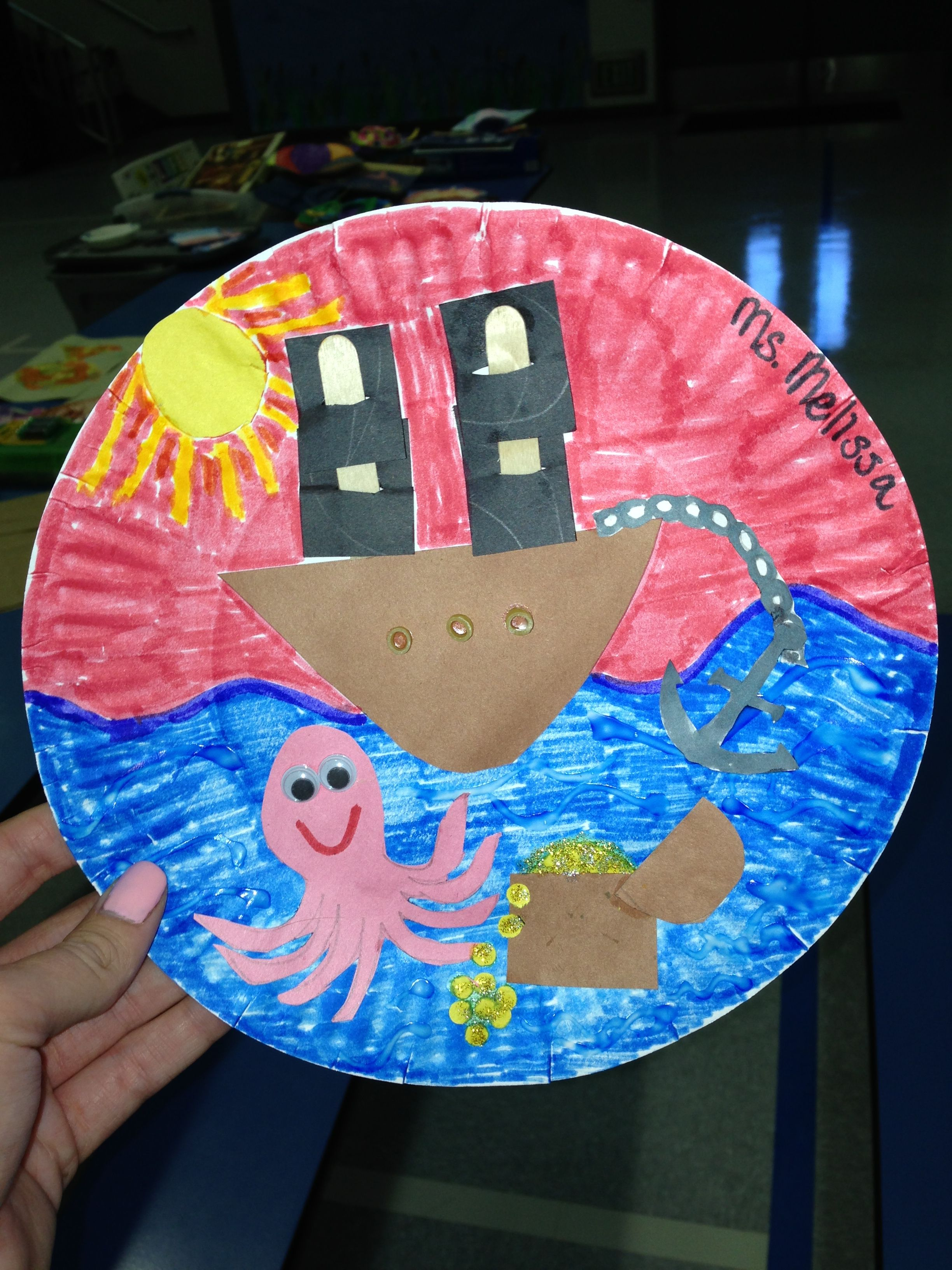 Fun Under The Sea Craft For Kids