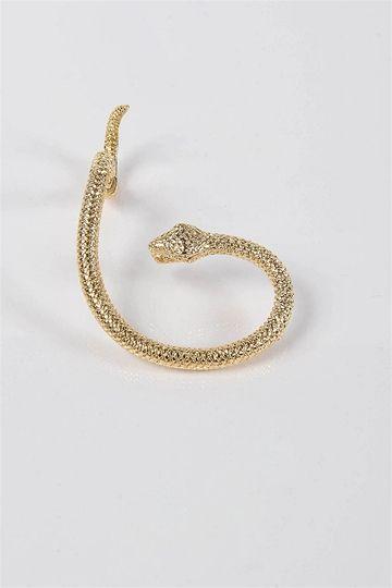 Hear No Evil Earrings - Gold